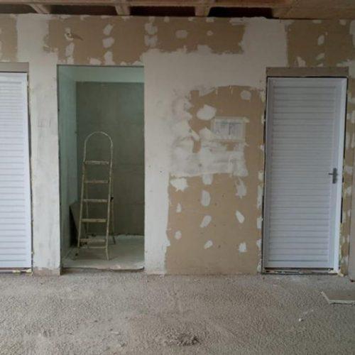 Conclusão dos banheiros (feminino/PNE/masculino) do 1º andar